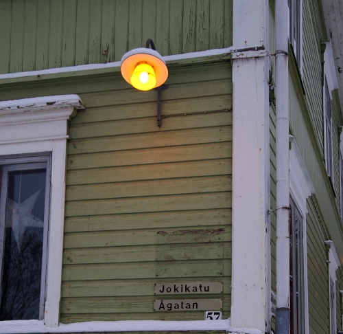 Jokikadun lamppu