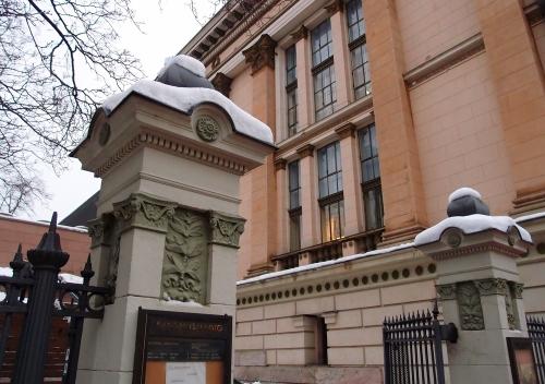Kansallisarkiston sisäänkäynti
