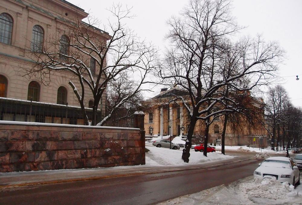 Snelmaninkatu, taaempana Kansallisarkisto