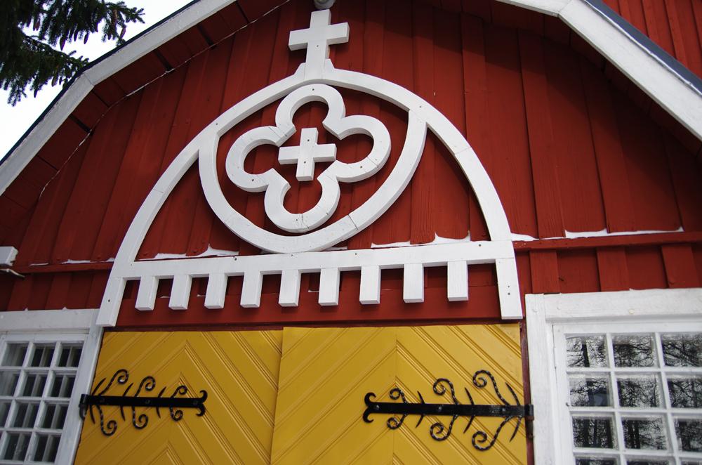 Kirkon sisäänkäynti