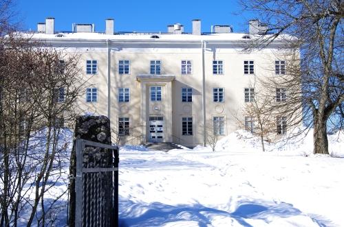 Ent. Hyvinkään Maatalousopisto Hyvinkäänkylässä Vantaanjoen tuntumassa