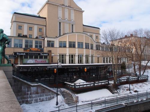 Tampereen teatteri Hämeensillalta
