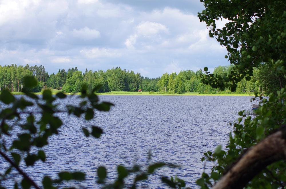 Juhannus järvellä