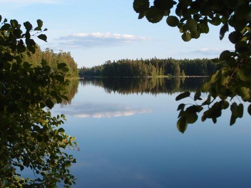 Kesäpäivän ilta Heinijärvellä