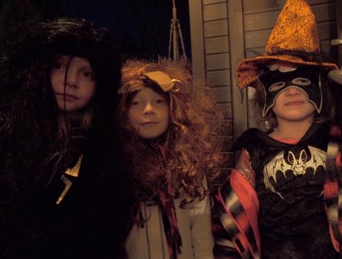 Halloween-nuoret