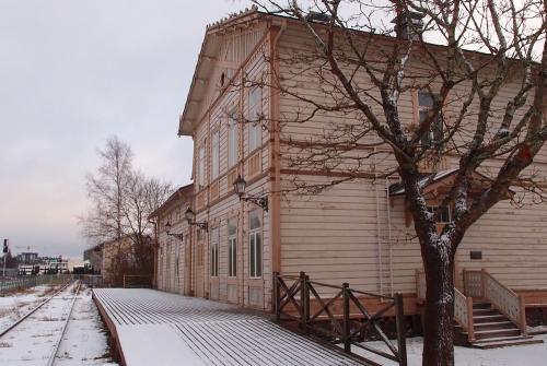 Hanko-radan vanha asemarakennus, Rautatiemuseo