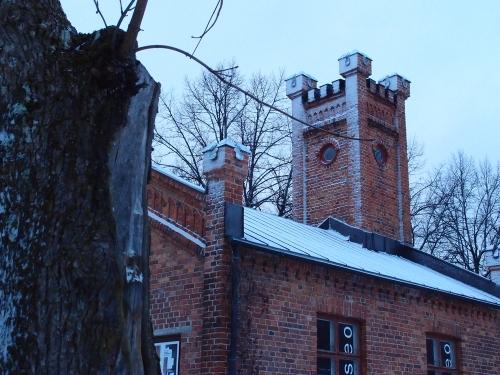 Villatehtaan museon torni