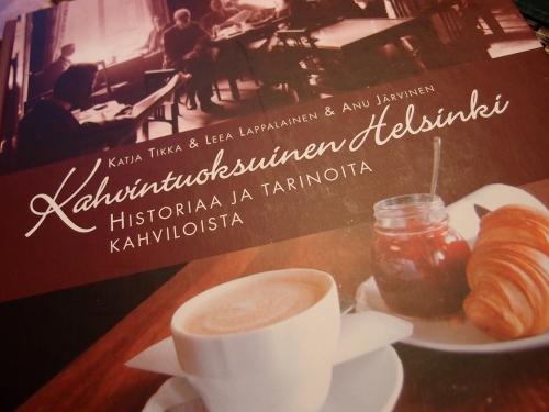 """Lahjakirja """"Kahvintuoksuinen Helsinki"""""""