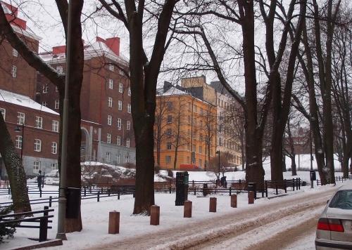 Kaikukujan puisto Hämeentien varrella