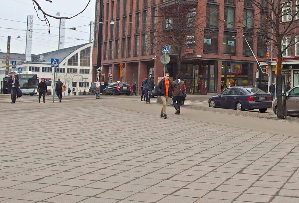 Helsingin Kamppia maaliskuussa  (7.3.)