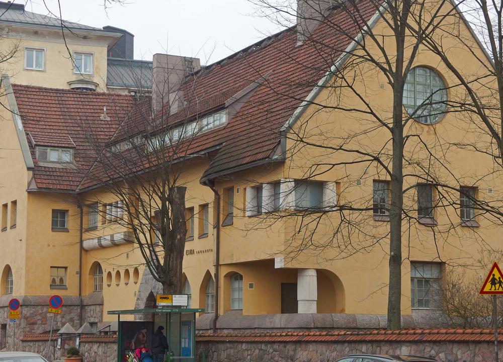 Tyylikäs Eiran sairaala