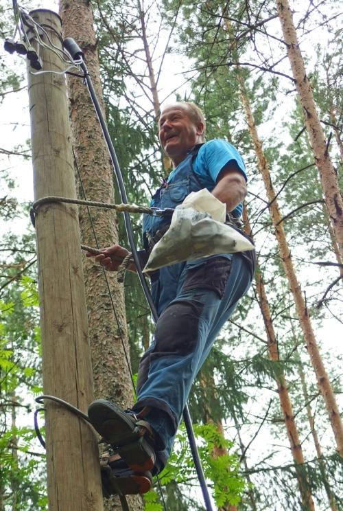 Sähköurakoitsija Pekka Kujanpää