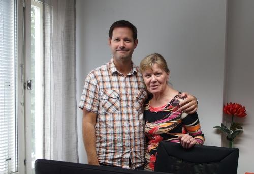 Seinänaapurimme Kai Tamminen ja Arja Leinonen, KaiData