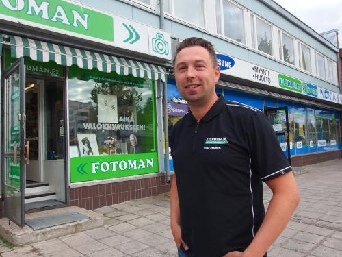 Ville Friman, Fotoman