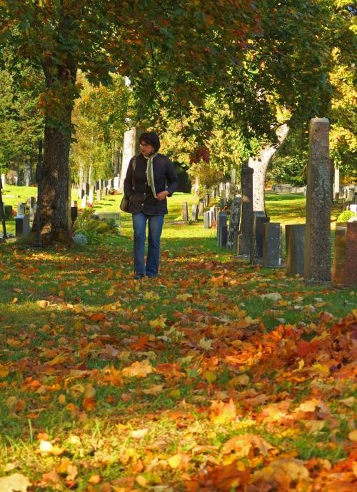 Sukujuurien jäljillä, Tammelan hautausmaa