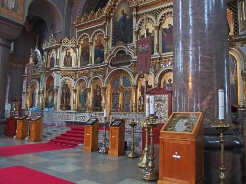 Uspenskin katedraalin ikonostaasi