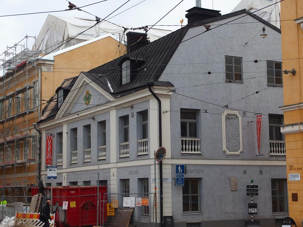 Sederholmin talon kortteli remontissa