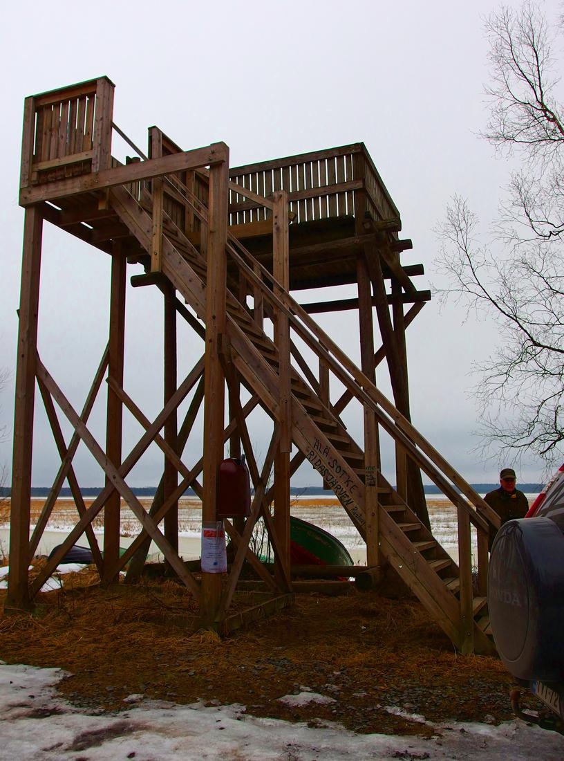 Ridasjärven lintutorni, Hyvinkää