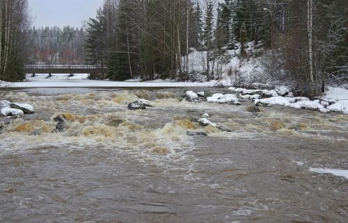 Kaanaanjoen koski, Hirvihaara, Mäntsälä