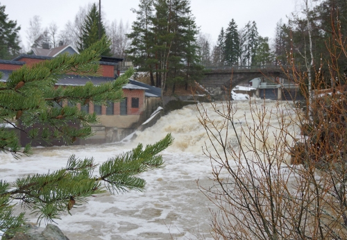 Porvoonjoen Naarkoski, Pukkila