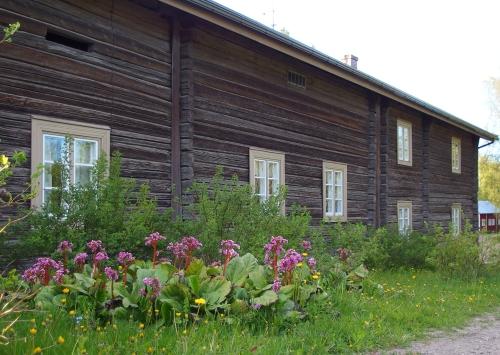 Syrjäälän tilan päärakennus, Portaan kylä