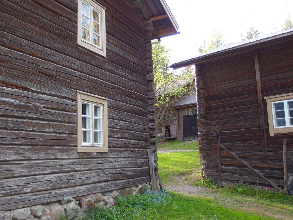 Syrjälän tila, Portaan kylä