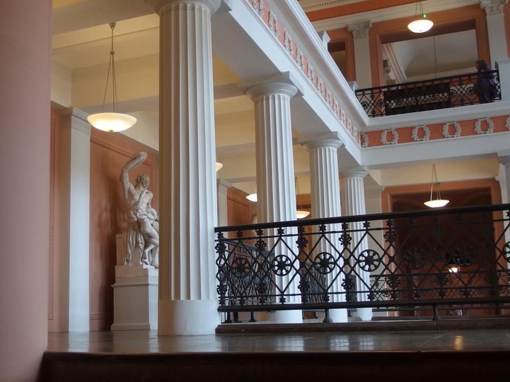 Helsingin yliopiston päärakennus. Sisäkuva