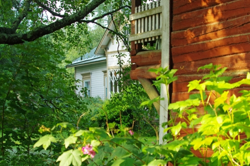 Ridasjärventien talon yksityiskohta