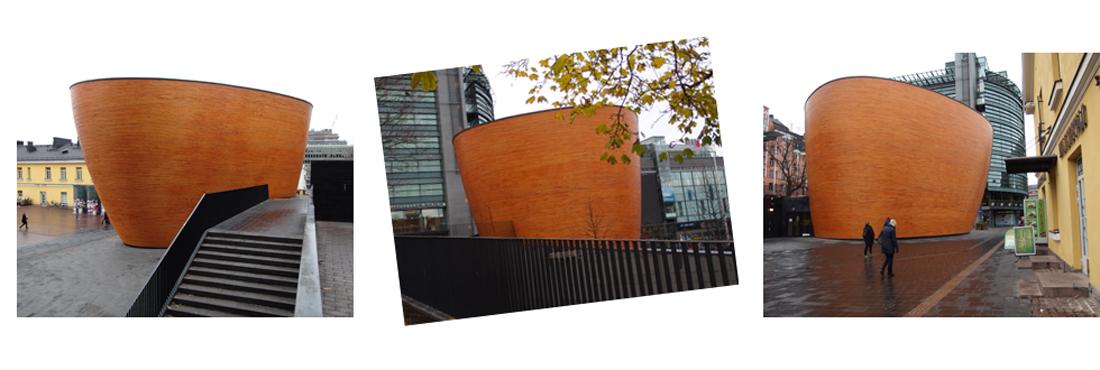 Kampin kappeli, kansainvälisesti palkittu (Mikko Summanen, arkkitehtitoimisto K2S)