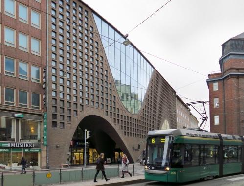 Kaisa-talo, Kaisaniemenkatu Helsinki (Anttinen Oiva Arkkitehdit Oy)