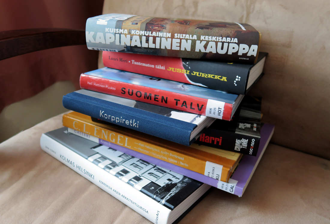 Lahjakirjoja ja muitakin