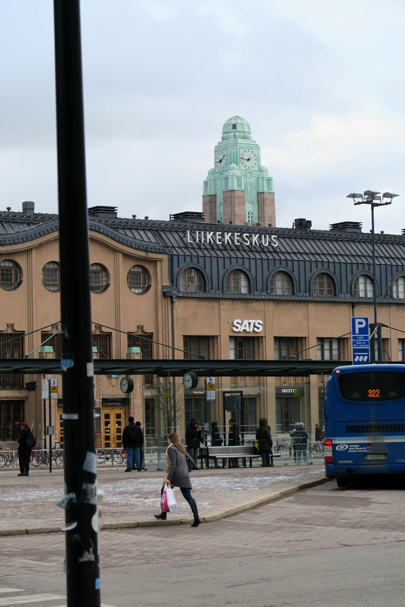 Hyvästi Helsinki, nähdään taas!