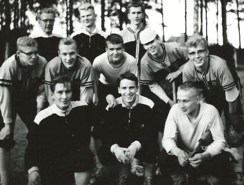 HerUn ensimmäinen Suomensarjakausi 1963 – sijoitus 2.!