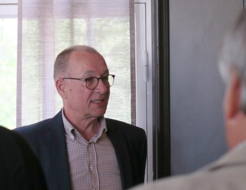Ari Karlsson, yksi HerU-tilaisuuden järjestäjistä.