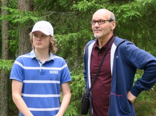 J-poika ja isoisä (Papu)