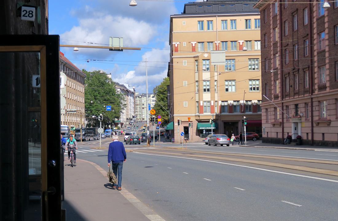 Etu-Töölöstä Taka-Töölöön päin
