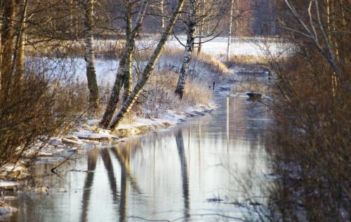 Joulukuinen Kytäjoki