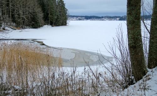 Joulukuinen Kytäjärvi