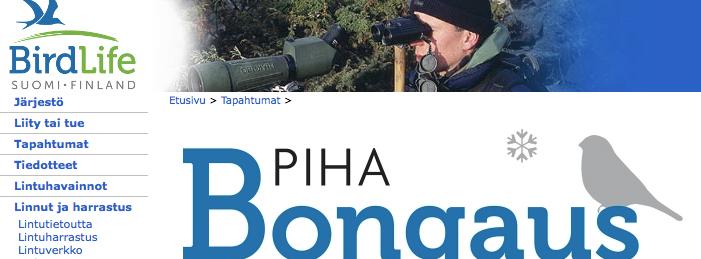 Bird Life Pihabongaus 2017