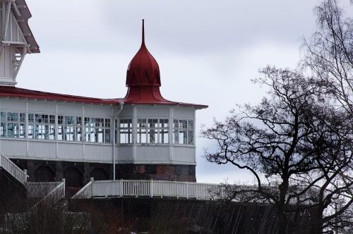 Yksi ravintola Klippanin torneista